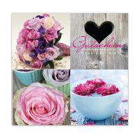 Gutschein Flowers for life Present 12x12cm  inkl.Umschlag