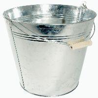Eimer, Metall ZINK 35-145 Ø29cm H25cm  10 Liter