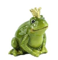 Froschkönig GRÜN 15239 Alfons 8,4x8,3x9cm Keramik