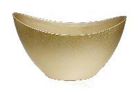 Schiffchen Kunststoff GOLD 24x10x14cm  223181