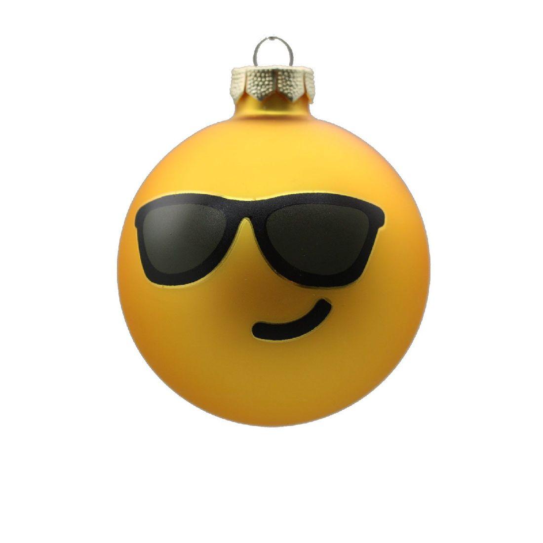Glaskugel Emoji 60222 Sunglasses8 cm