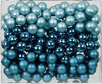 Spiegelbeeren / Glaskugeln 15246 Classy Peacock Mix 25mm Draht Spiegelbeeren