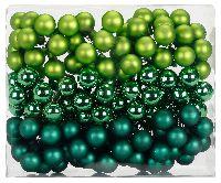 Spiegelbeeren / Glaskugeln 15229 Evergreens Mix 25mm Draht Spiegelbeeren