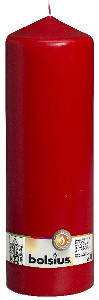 Stumpenkerzen ROT 41 H300 Ø100mm