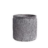 Topf Linea GRAU 35-301 Ø13xH12,5cm