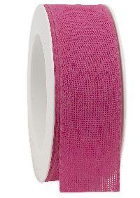 Basicband NATURE pink 241 biologisch abbaubar B:40mm L:20m Baumwollband 267