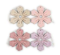 Hänger Harmony rosa-lila-natur-malve 20761231 Blume/Blüte 8cm GL:16cm