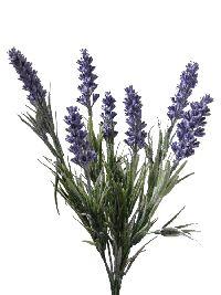 Lavendel Busch künstlich  Indoor & Outdoor 7 Stiele  Höhe 33cm  1359