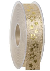 Band Glanzkonzept GOLD 369a 15 15 B:25mm L:20Meter