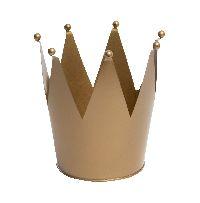 Krone GOLD 38zig01 Ø14cm x 16cm  Zink