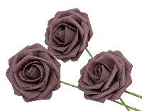 Rose Foam / Schaumrose MALVE 66 Ø7cm  80686
